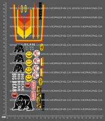 1/12TH MARUI - BIG BEAR DECALS