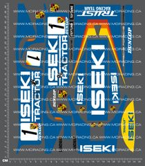 1/12TH TAM 58042 - PORSCHE 956 - ISEKI DECALS