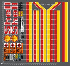 1/14TH TAM - SHELL TANKER DECALS