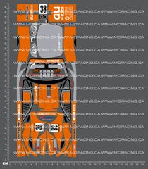 1/18TH HPI - MICRO RS4 - TOYOTA SUPRA GT DECALS