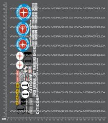1/12TH TAM 58021 - CAN-AM LOLA (RM) DECALS