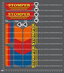 1/10TH MONSTER TRUCK - STOMPER DECALS