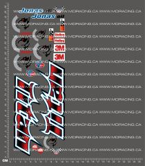 1/10TH MONSTER TRUCK - TITAN - V2 DECALS