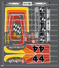 1/10TH KYOSHO - COX SIDEWINDER DECALS