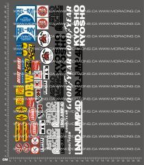 1/8TH KYOSHO - LAND JUMP 4D DECALS