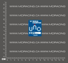 540 MOTOR DECAL - HPI UNO