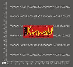 540 MOTOR DECAL - TEAM KINWALD