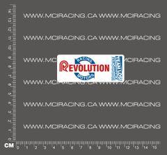 540 MOTOR DECAL - LOSI RACING REVOLUTION MOTORS - WHITE