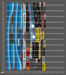 1/10TH MAZDA RX-7 - LOMBARD RALLY DECALS