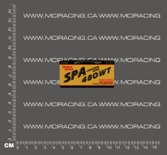 540 MOTOR DECALS - KYOSHO 480 WT SPA