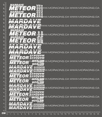 1/10TH MARDAVE - METEOR DECALS