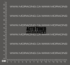 540 MOTOR DECAL - ACTO-TUNED M SPECIAL MOTOR