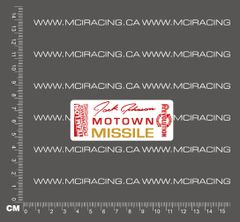 540 MOTOR DECAL - LOSI - JACK JOHNSON MOTOWN MISSILE