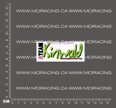 540 MOTOR DECAL - TEAM KINWALD - GREEN