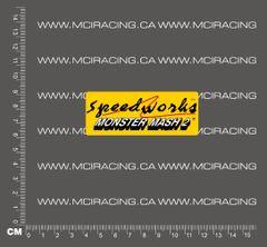 540 MOTOR DECAL - SPEEDWORKS - MOSNTER MASH 2