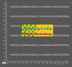 540 MOTOR DECAL - SPEEDWORKS - SUPER SPEEDWAY