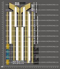 1/14TH TAM 56334 - KING HAULER TRUCK - BLANK PANELS DECALS