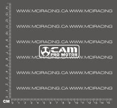 540 MOTOR DECAL - CAM PRO-MOTOR