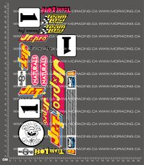 1/10TH LOSI - JAMMIN JAY JRXT DECALS