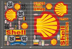 1/10TH PORSCHE - 962 SHELL V1 DECALS