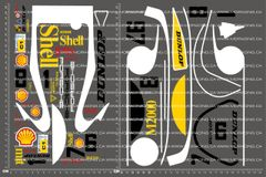 1/10TH PORSCHE - 962 SHELL V2 DECALS