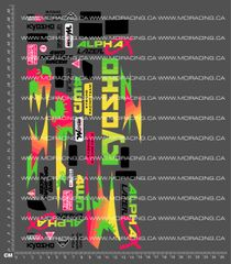 1/10TH KYOSHO - LAZER ALPHA DECALS