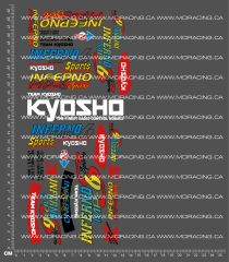 1/8TH KYOSHO - INFERNO MP-6 SPORT DECALS