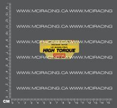540 MOTOR DECAL - LE MANS PRO - HIGH TORQUE
