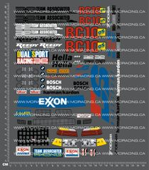 1/10TH ASSOCIATED - RC10 DS - BMW DUAL SPORT DECALS