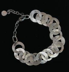 Sterling Silver round Chain Bracelet
