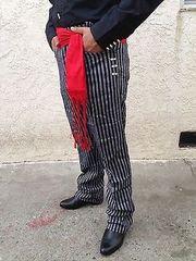 Pantalones/ Pants Caporal Black or Stripes