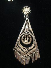 Large earrings- Diamond/ Circle