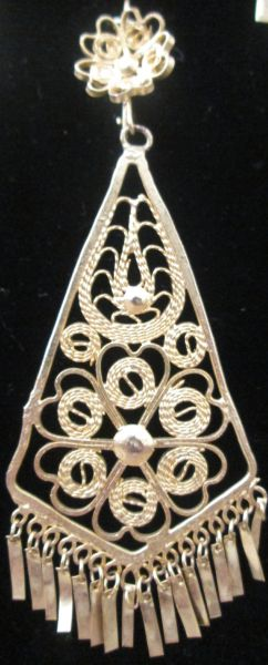 Large earrings- Diamond