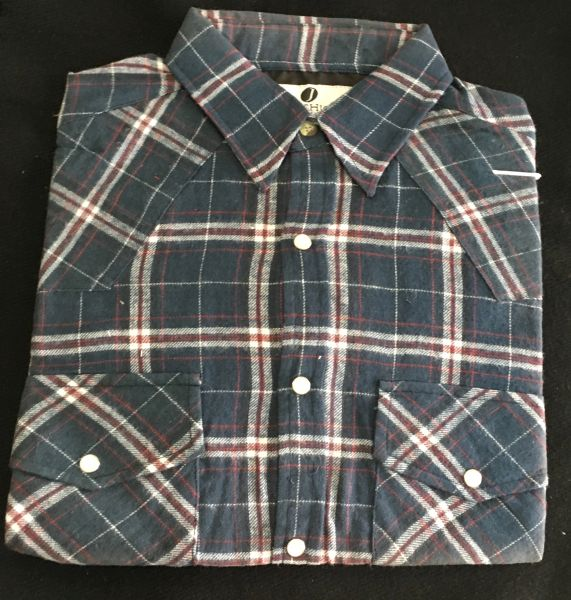 Men's Plaid Shirt// Camisa a Cuadros