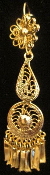 Small earrings- Drop Circle