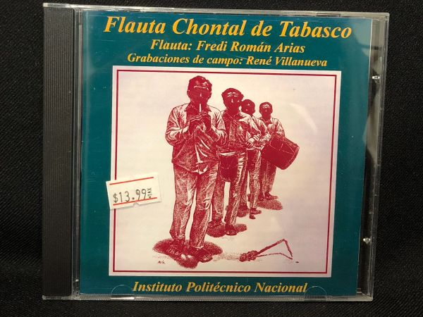 Flauta Chontal de Tabasco