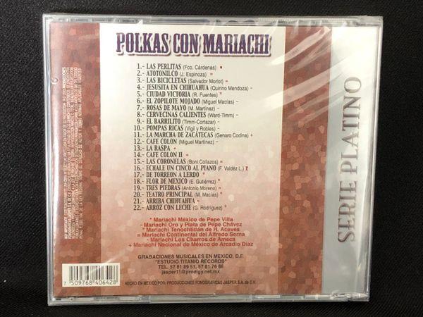 Serie Platino 20 Exitos Polkas con Mariachi