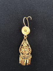 Mini earrings - Drop/daisy