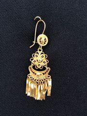 Mini earrings - Daisy/Half moon