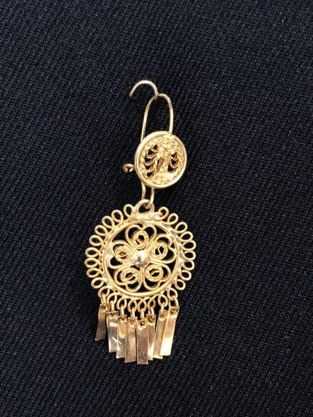 Mini earrings - Round/Daisy