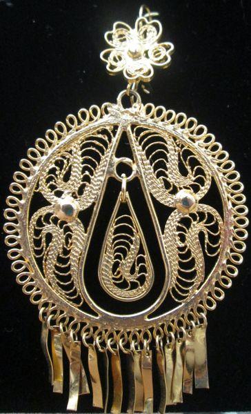 Large earrings- Round/Drop