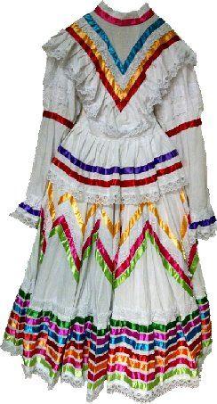 Jalisco Dress- White