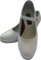 Women Dance Folkloric Shoes - White