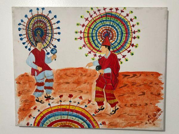 Danza de la Pluma Painting
