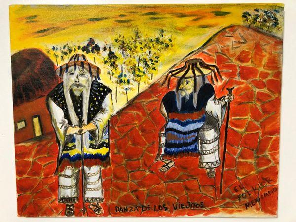 Danza de los Viejitos Painting