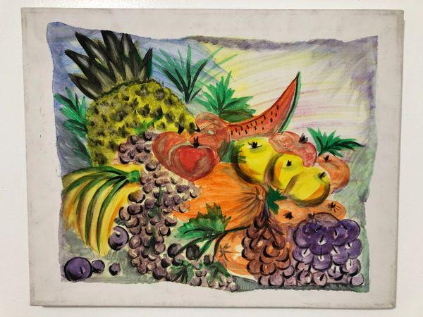 Frutas Painting