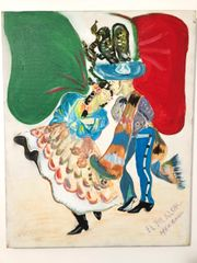 Jarabe Tapatio Painting