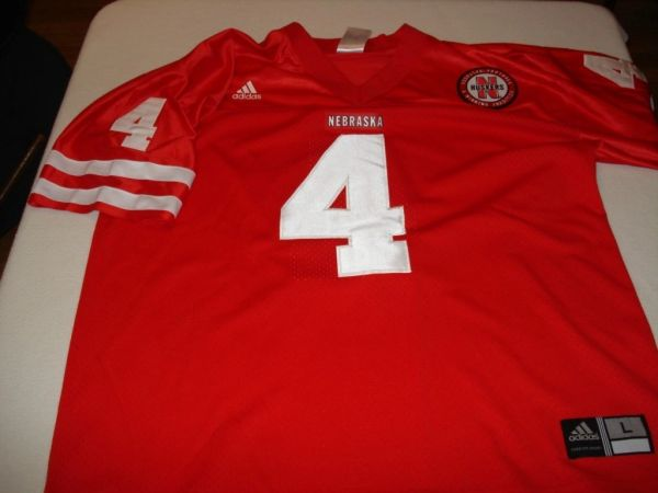 new styles ae3be fdcd9 #4 TOMMY ARMSTRONG Nebraska Corn Huskers NCAA QB Red Throwback Jersey