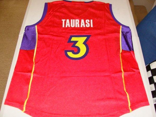 #3 DIANA TAURASI Phoenix Mercury WNBA Guard Red Throwback Jersey