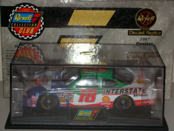 "1997 Revell 1/24 #18 Interstate Batteries ""Texas Race"" Pontiac GP Bobby Labonte CWC AUTOGRAPHED"